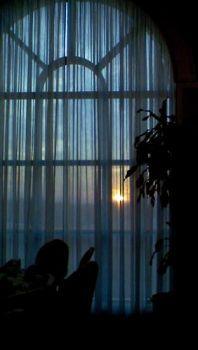 Curtain at Sunset