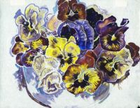 Bowl of Pansies by Walter Inglis Anderson