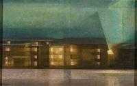Lyonel Feininger, Street Nocturne, 1929
