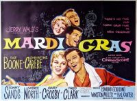 MARDI GRAS - 1958  - PAT BOONE, CHRISTINE CARERE, TOMMY SANDS, GARY  CROSBY
