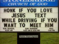Church sign!!