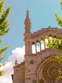 Church of Sant Bartomeu, Sóller, Spain  5509