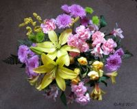 Easter flowers, easier