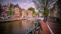 Amsterdam, Netherlands - Canal View