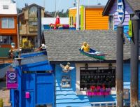 A funky store at Fisherman's Wharf in Victoria