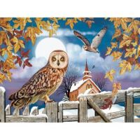 Owls in the Churchyard