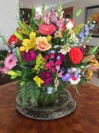 Happiness  is.....Luxurious Flower Arrangement.