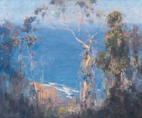 Arthur Streeton Ocean Blue, Lorne 1921