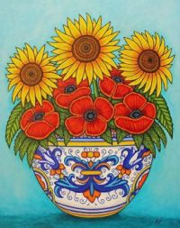 Umbria Bouquet by Lisa Lorenz