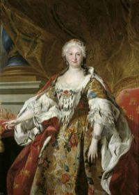 Louis-Michel van Loo  Official portrait of Queen Isabel de Farnesio (1692-1766) 1739