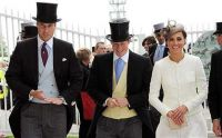 The Princes & Kate at the races