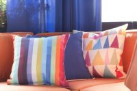 Pillows in Living Technicolor!