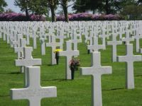 In memory of the American soldiers lost their lives in The Netherlands .