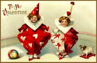 Vintage-Child-Clown-Valentine