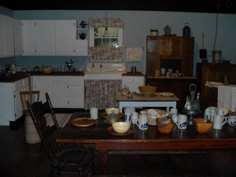 Walton S Kitchen Photographed At The Mountain Museum