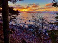 Redrock, Lake Superior Sunset