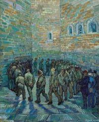 Vincent van Gogh - The Prison Courtyard, 1890