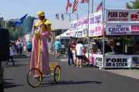 The Midway at Arkansas State Fair 2010