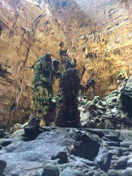 Cave in Apullia, Italy