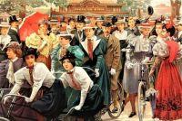 Au Bois De Boulogne (Aux Chalets du Cycle)