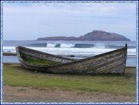 Old Lighter boat at Norfolk Island.