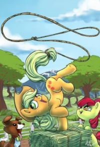 MLP: Applejack Showing Off