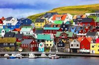 Colors of Nolsoy Village ~ Faroe Islands