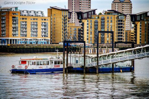 ferry to the Isle of Dogs London