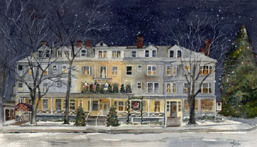 Christmas at Red Lion Inn - Berkshires MA