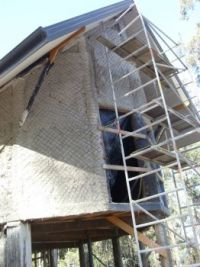 South end of house rendered
