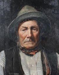 Alice Maud Fanner (British, (1865–1930), Portrait of the Twickenham Ferryman