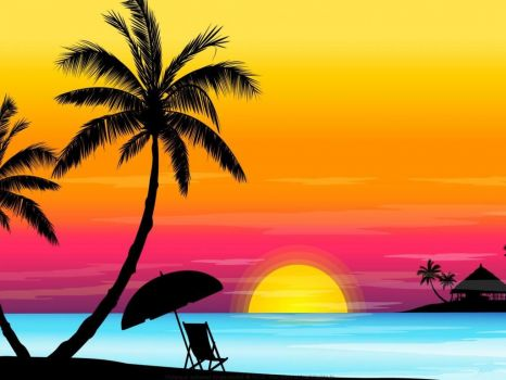 Sunset-in-the-tropics