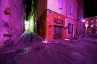 Purple Alley Night