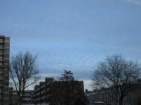 Afternoon sky over The Hague, Holland.