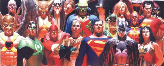 Justice Vol. 1 cover, Alex Ross