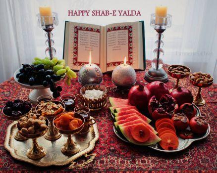 Happy  Yalda 2018 the longest night of year