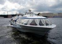 Russia Hydrofoil boat
