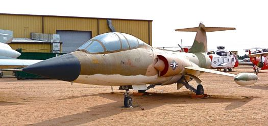Lockheed F-104D Starfighter. Pima Air and Space Museum.