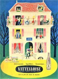 Themes Vintage ads - Vittelloise water