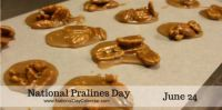 Today Is National Pralines Day!!