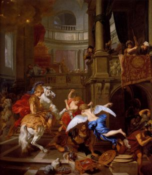 Expulsion from the temple by De Lairesse