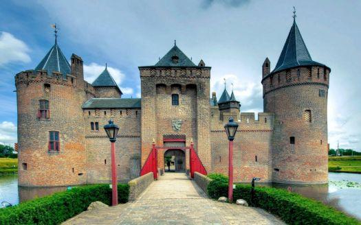 Muiderslot Castle in the Netherlands