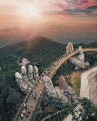 The Golden Bridge, Da Nang, Vietnam