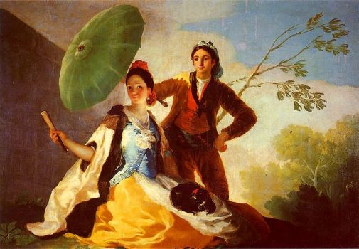 Goya's El Quitasol [The Parasol] (c.1777)
