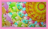 Sunburst in pastels . . . .