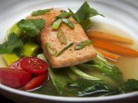 Pot au Pho with Salmon