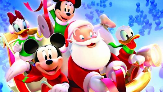 mickey mouse sleigh ride