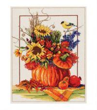 Janlynn's Pumpkin Floral Arrangement