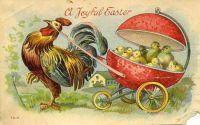 Joyful Easter circa 1900