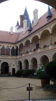 Zámek Žleby, Czechia